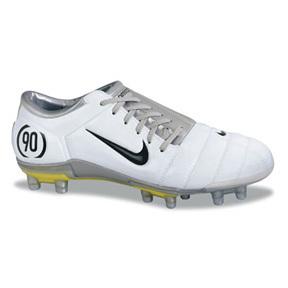 Nike Air Zoom Total 90 III FG Soccer Shoes (White/Black ...