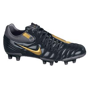 Nike Total 90 Shift FG Soccer Shoes (Black/Gold)