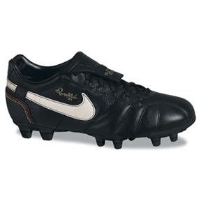 Nike Youth Tiempo Ronaldinho FG Soccer Shoes (Black ...