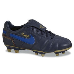 Nike Youth Tiempo Ronaldinho FG Soccer Shoes (Obsidian ...