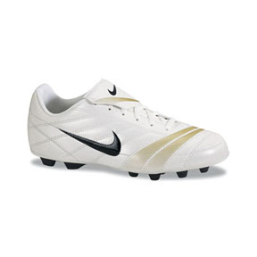 Nike Youth Premier FG Soccer Shoes (White/Black)