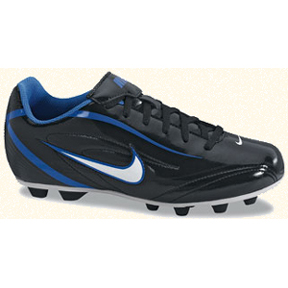 Nike Rio FG Soccer Shoes (Black/White/Blue Spark)