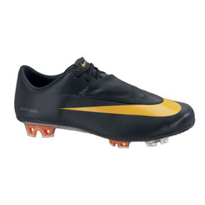 Nike Mercurial Vapor VI FG Soccer Shoes (Black/Orange)