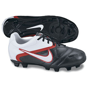 Nike Youth CTR360 Libretto II FG Soccer Shoes (Black/Red)