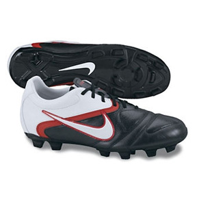 Nike CTR360 Libretto II FG Soccer Shoes (Black/Red)