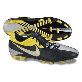 Nike Total 90 Laser IV KL FG Soccer Shoes (Black/Yellow)