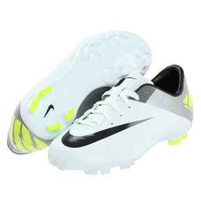 Nike Youth Mercurial Victory II FG Soccer Shoes (Trace Blue)