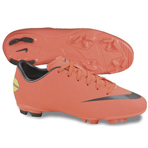 Nike Youth Mercurial Victory III FG Soccer Shoes (Mango)