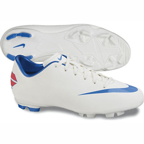 Nike Youth Mercurial Victory III FG Soccer Shoes (Sail)