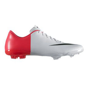 Nike Youth Mercurial Vapor VIII FG Soccer Shoes (Solar Red)