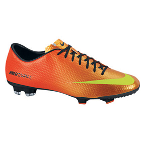 Nike Mercurial Victory IV FG Soccer Shoes (Sunset)