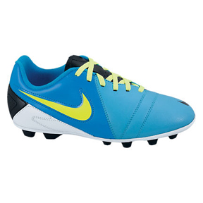 Nike Youth CTR360 Enganche III FG-R Soccer Shoes (Blue)