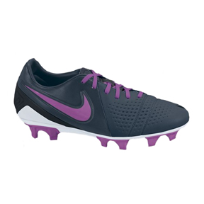 Nike Womens CTR360 Libretto III FG Soccer Shoes (Navy/Pink)
