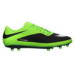 Nike HyperVenom Phatal FG Soccer Shoes (Flash Lime/Black)