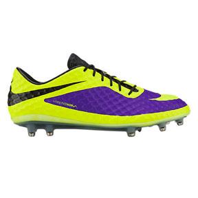 Nike HyperVenom Phantom FG Soccer Shoes (Electro Purple)