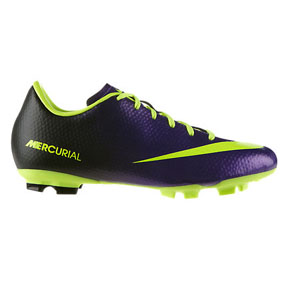 Nike Youth Mercurial Victory IV FG Soccer Shoes (Electro Purple)