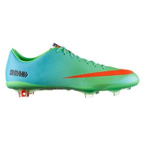 Nike  Mercurial Vapor IX FG Soccer Shoes (Neo Lime/Orange)