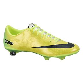 Nike  Mercurial Vapor  IX FG Soccer Shoes (Vibrant Yellow)