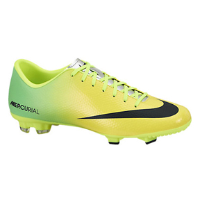 Nike Mercurial Victory IV FG Soccer Shoes (Vibrant Yellow)