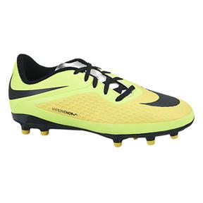 Nike Youth HyperVenom Phelon FG Soccer Shoes (Vibrant Yellow)