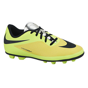 Nike Youth HyperVenom Phade FG Soccer Shoes (Vibrant Yellow)