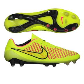 Nike Magista  Opus FG Soccer Shoes (Volt/Black/Punch)
