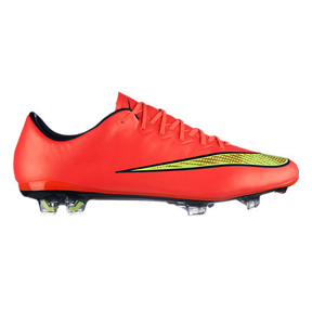 Nike  Mercurial    Vapor  X FG Soccer Shoes (Hyper Punch)