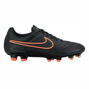 Nike Womens Tiempo Genio FG Soccer Shoes (Black)
