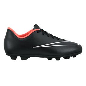 Nike Youth Mercurial Vortex II FG-R Soccer Shoes (Black/Hyper)