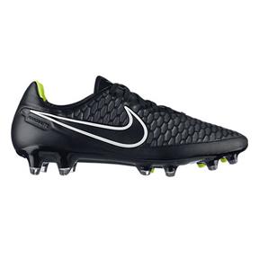 Nike   Magista Orden FG Soccer Shoes (Black/Hyper Punch/Volt)