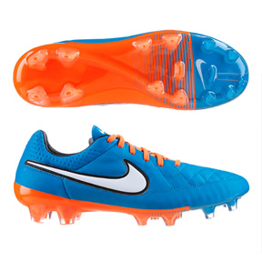 Nike Tiempo Legend  V FG Soccer Shoes (Neo Turquoise)