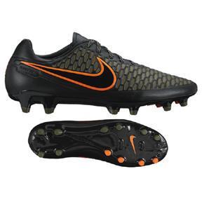 Nike Magista  Orden FG Soccer Shoes (Black/Rough Green)