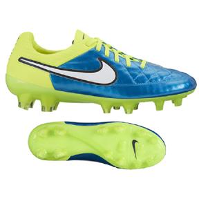 Nike Womens  Tiempo Legend  V FG Soccer Shoes (Blue Lagoon)
