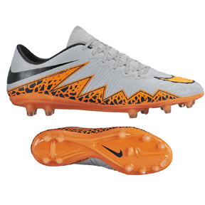Nike  HyperVenom  Phinish II FG Soccer Shoes (Wolf Grey)