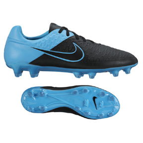 Nike Magista  Orden Leather FG Soccer Shoes (Black/Turquoise)