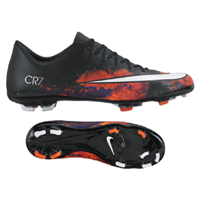 Nike Youth CR7 Ronaldo Mercurial Vapor X FG (Savage)