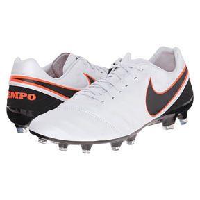 Nike  Tiempo Legacy  II FG Soccer Shoes (Pure Platinum)