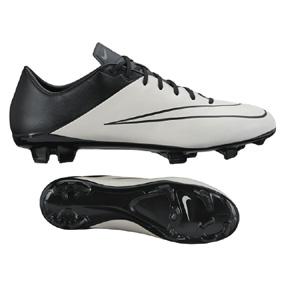 Nike Mercurial Veloce II Leather FG Soccer Shoes (Light Bone)
