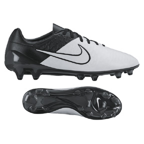 Nike  Magista Opus Leather FG Soccer Shoes (Light Bone/Black)