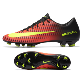 Nike  Mercurial Victory  VI FG Soccer Shoes (Total Crimson/Volt)