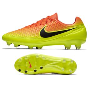Nike Magista  Orden FG Soccer Shoes (Total Crimson/Citrus)