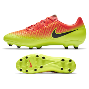Nike Magista Onda FG Soccer Shoes (Total Crimson/Citrus)