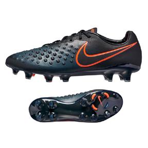 Nike  Magista Opus  II FG Soccer Shoes (Black/Total Orange)