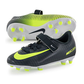 Nike Youth  CR7  Mercurial Vortex V FG Soccer Shoes (Discovery)