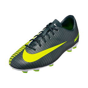 Nike Youth  CR7  Mercurial Vapor VI FG Soccer Shoes (Discovery)