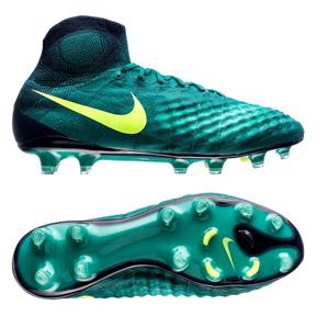 Nike  Magista  Obra II FG Soccer Shoes (Rio Teal/Volt)
