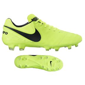 Nike  Tiempo Legacy  II FG Soccer Shoes (Volt/Black)
