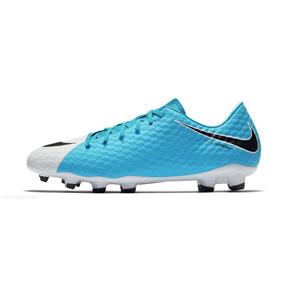 Nike  HyperVenom Phelon  III FG Soccer Shoes (Chlorine Blue)