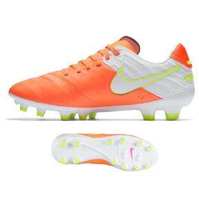 Nike Womens  Tiempo Legacy  II FG Soccer Shoes (Tart/White)