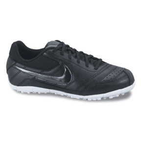 Nike Youth NIKE5 T-1 CT Turf Soccer Shoes (Black/White)